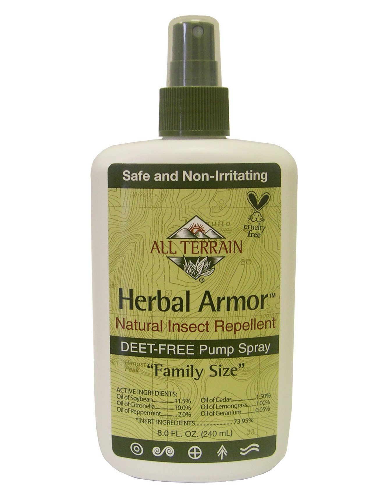 All Terrain Herbal Armor DEET-Free Organic Insect Repellent