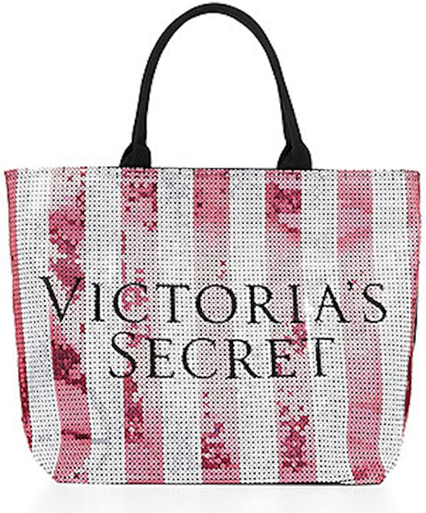 Victoria/'s Secret Tote Bag Sequin Bling Bling 2017 Black Friday Limited Edition