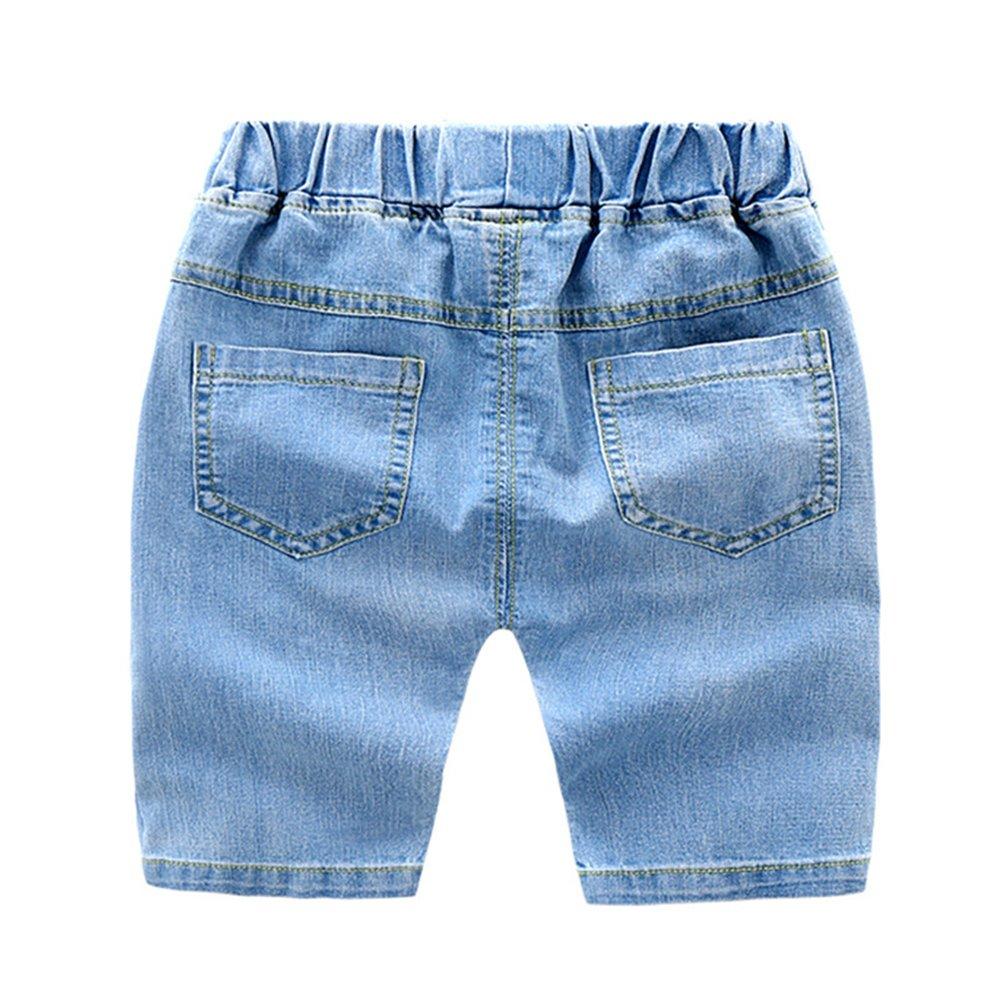 e43fc417e257e MISSMAO Garçon Short Jean Robe d'été bébé Les Jeans légers pour 3-8 Ans  Enfants Imprimé Mignon Casual Souple PhotoColor 130: Amazon.fr: Vêtements  et ...
