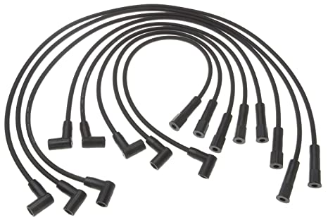 Amazon Com Acdelco 9608b Professional Spark Plug Wire Set Automotive