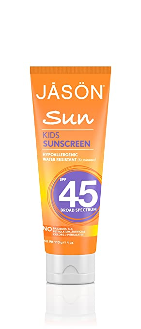 Jason Kids Sunscreen Broad Spectrum SPF 45