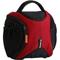 Vanguard Oslo 15 Sophisticated, Simple Shoulder Bag, Burgundy/Black, (V241760)
