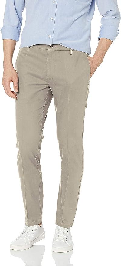 Goodthreads Mens Skinny-Fit Wrinkle Free Dress Chino Pant Dress Pants