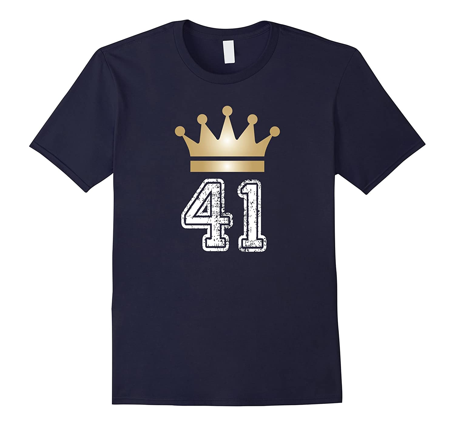 41 Yrs Old 41st Birthday King|Prince Crown Cute Gift T-Shirt-TH