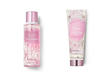 07519cf2ad3 Victoria s Secret Pure Seduction Frosted Body Mist and Fragrance Lotion  Limited Edition Set