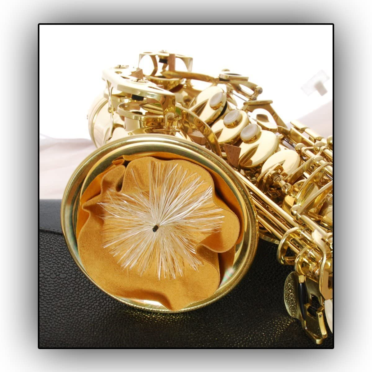 Durchziehwischer Gewa Wischer Tenor-Saxophon Leder