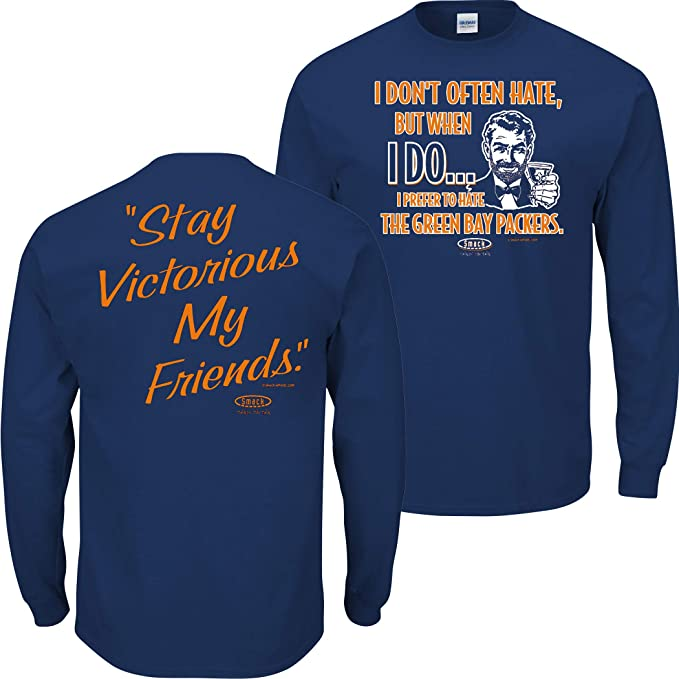 Sm-5X Royal T-Shirt Smack Apparel St Stay Victorious Louis Hockey Fans Anti-Chicago