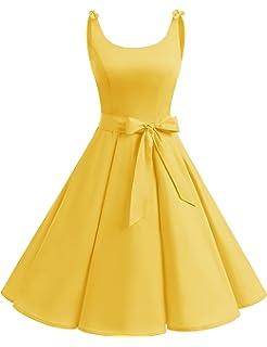 ca065271a1bf Bbonlinedress 1950's Bowknot Vintage Retro Polka Dot Rockabilly Swing Dress