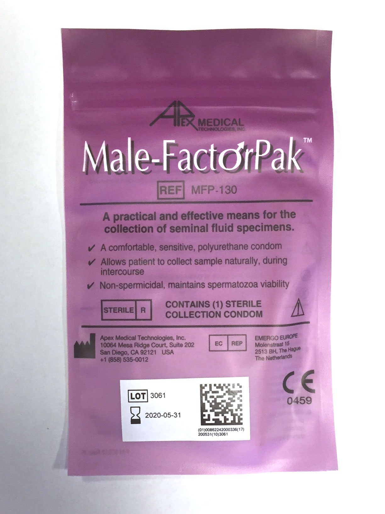 Male-FactorPak (Pack of 2) by Male-Factor Pak