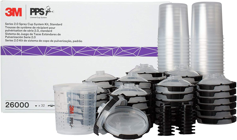 3M 26007 Spray Gun Cup Lid,S6 Type,Plastic