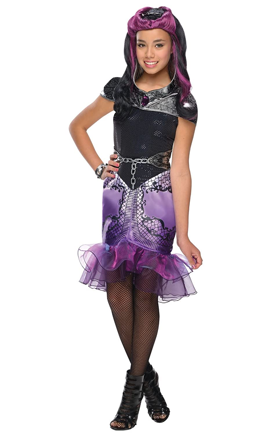Amazon.com Rubieu0027s Ever After High Child Raven Queen Costume Child Medium Toys u0026 Games  sc 1 st  Amazon.com & Amazon.com: Rubieu0027s Ever After High Child Raven Queen Costume Child ...