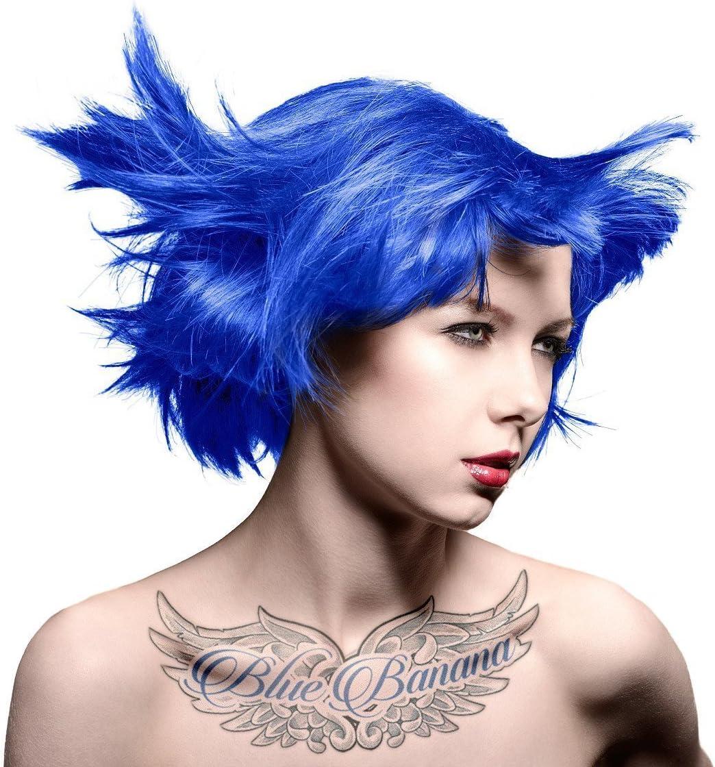 Manic Panic tinte de pelo – Vegan tinte de pelo – Bad boy azul & rosa pincel para tinte