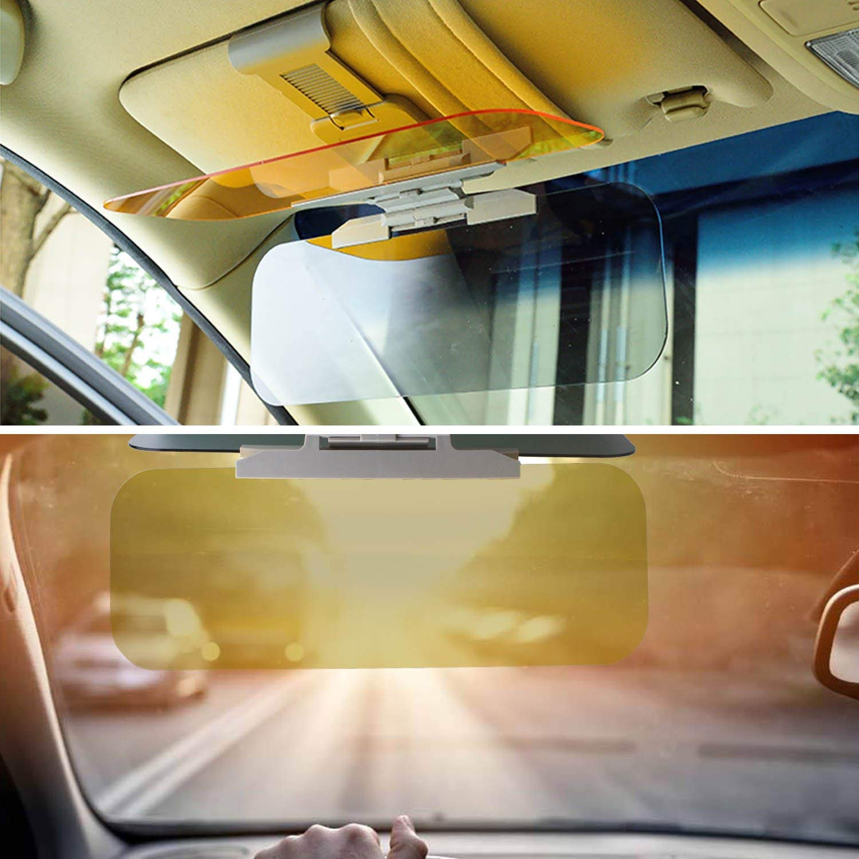 elegantstunning Extension de Pare-Soleil pour Voiture Beinhome Anti-reflet teint/é