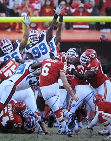 free shipping 8fd52 1b596 Ryan Succop KC CHIEFS autographed 8x10 photo #1 at Amazon's ...