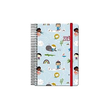 Dohe 12558 - Agenda Aldeas Infantiles SOS día página: Amazon ...