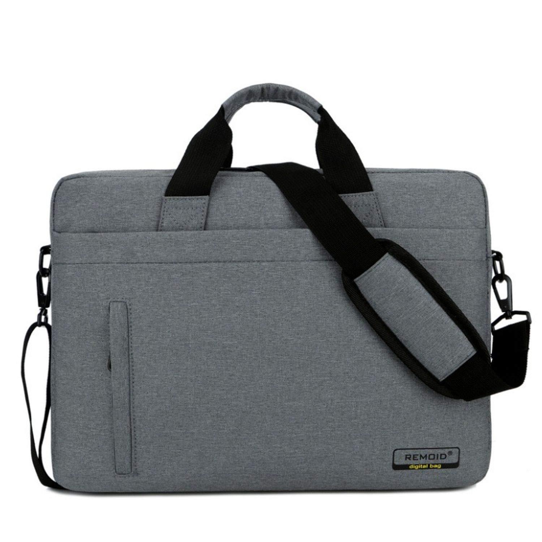 Summer-lavender Briefcases メンズ B07GFC5CGR  Dark Gray 15.6 Inch One Size