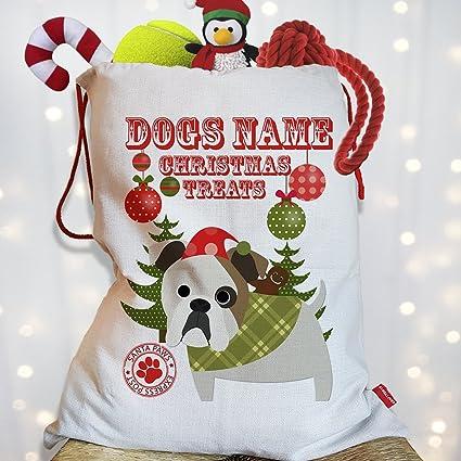 Pug in Sack Christmas Decor