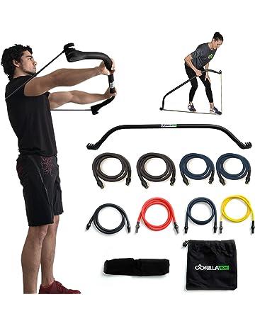 dd3bf0082de6 Gorilla Bow Portable Home Gym Resistance Band System