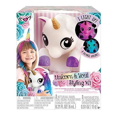 Fashion Angels Unicorn & You Styling Head, Multi: Toys & Games