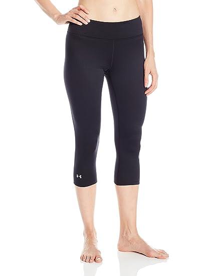 0fb8e84507 Under Armour Outerwear Women's Base 2.0 3/4 Leggings, X-Small, Black