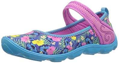 11179a0eb63e4 Crocs Girls' Duet Busy Day MJ Graphic GS Mary Jane