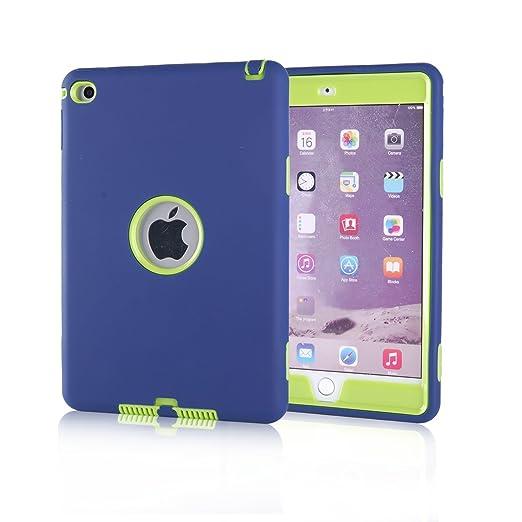 152 opinioni per iPad Mini 4 Custodia, TKOOFN Custodia Ibrida Antiurto Resistente Tre-strati