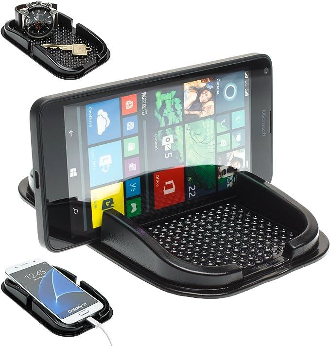 Mobilefox Kfz Auto Anti Rutsch Matte Haft Pad Armaturenbrett Handy Halter Für Microsoft Lumia 950 930