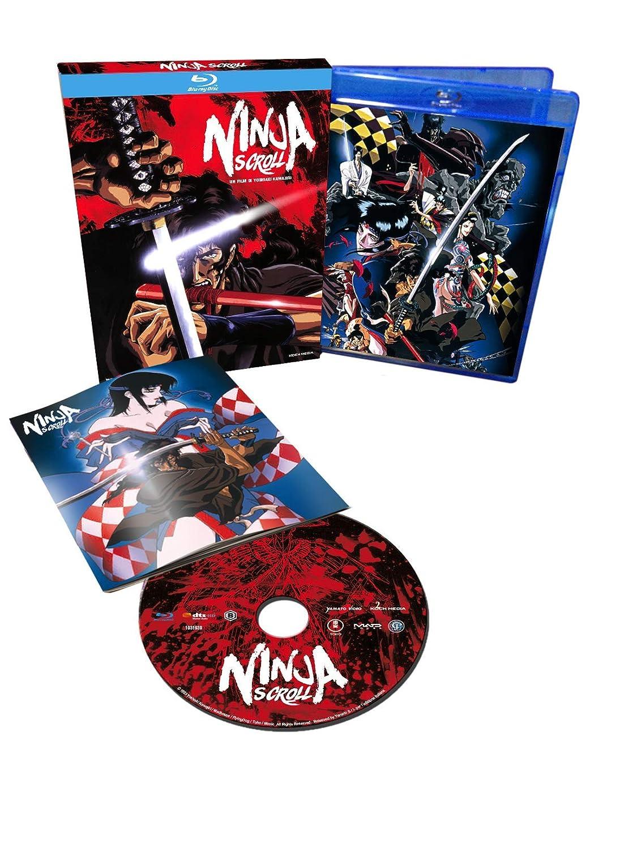 Ninja Scroll [Italia] [Blu-ray]: Amazon.es: Yoshiaki ...