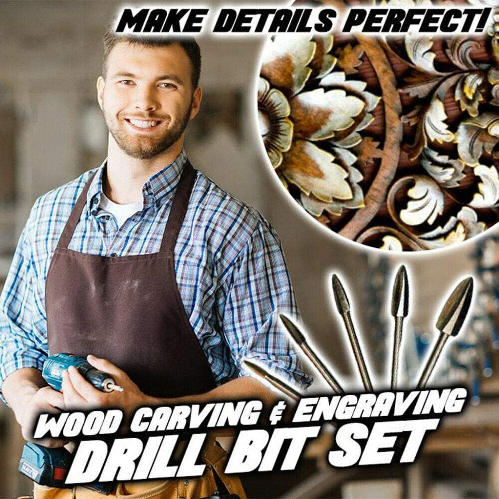 1set AYEMOY Wood Carving /& Engraving Drill Bit Set Holzschnitzereien Werkzeug,F/ür Holz Werkzeuge Holz-schnitzmesser,Holzbearbeitungsfl/ö/ße Wood Carving Drill Bit Set Stechbeitel Set Holzmei/ßel