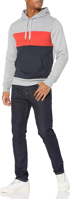 Essentials Men's Standard Hooded Fleece Sweatshirt: Clothing