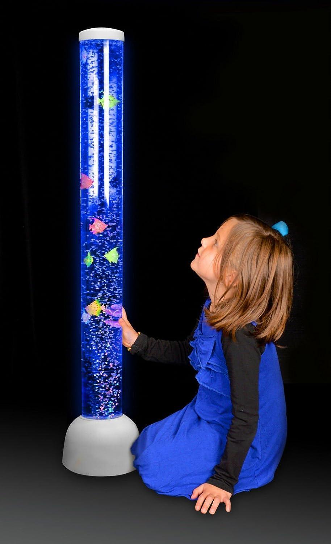Playlearn Large Bubble Tube Led Light Floor Novelty Lamp