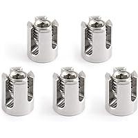 GARDELI Kruisklem 5 stuks van roestvrij staal (A4) voor 3 mm kabel kabelklem kabelklem M8 V4A 316