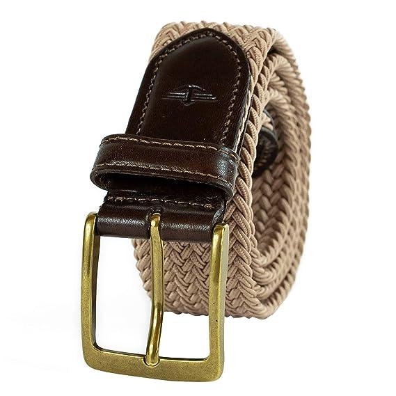 Dockers Mens Big and Tall 35mm Braided Elastic Web Belt