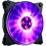 MasterFan Pro 120 Air Balance RGB- 120mm Silent Case Fan, Hybrid-Design Fan for Computer Cases, CPU Coolers, and Radiators