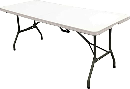 ACTIEXPRESS Table Pliante Type Valise, Table de Jardin ...
