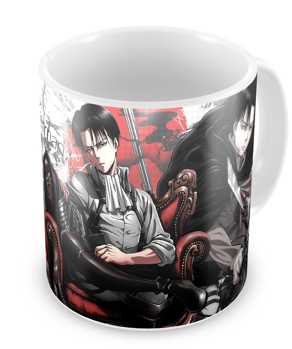 Instabuy Tazza Attack on Titan (C) - Levi Cup Easy Exp & Imp Limited