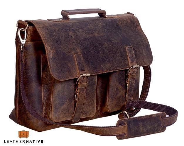 Amazon com: Leather Native 15 Inch Retro Buffalo Hunter
