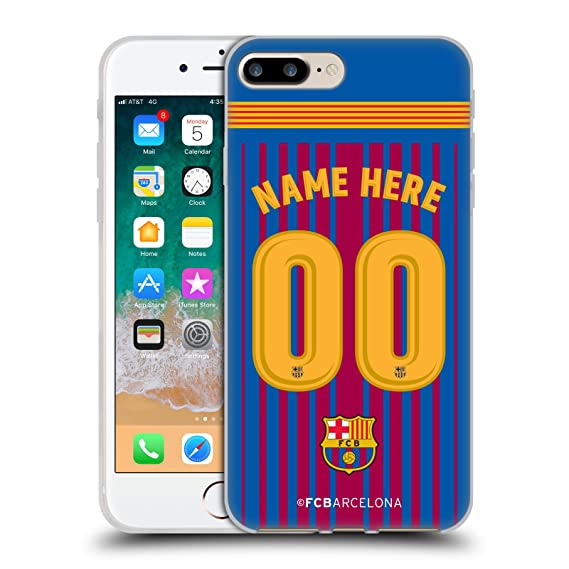 f09338a34cb Amazon.com  Custom Customized Personalized FC Barcelona Home 2017 18 ...
