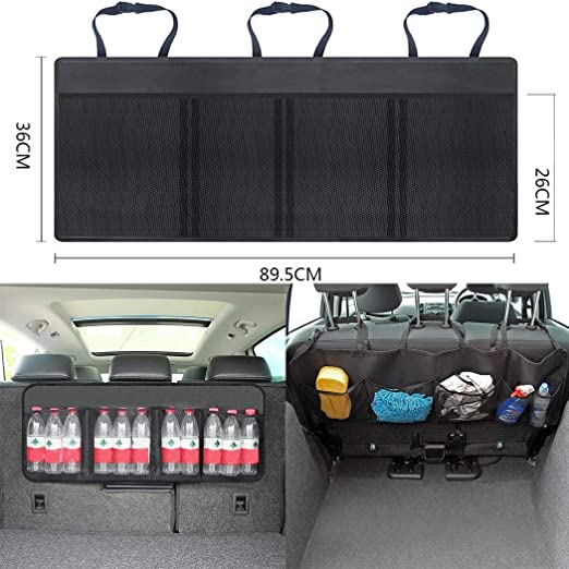 Car Truck Back Seat Multi-Pocket Storage Pouch Bag Home Organizer Holder
