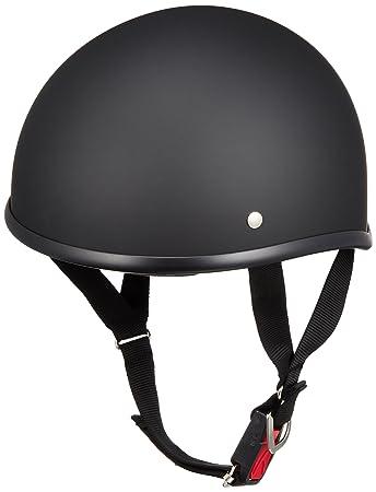 リード工業 バイクヘルメット ハーフ D\u0027LOOSE マットブラック D,355 FREE (頭