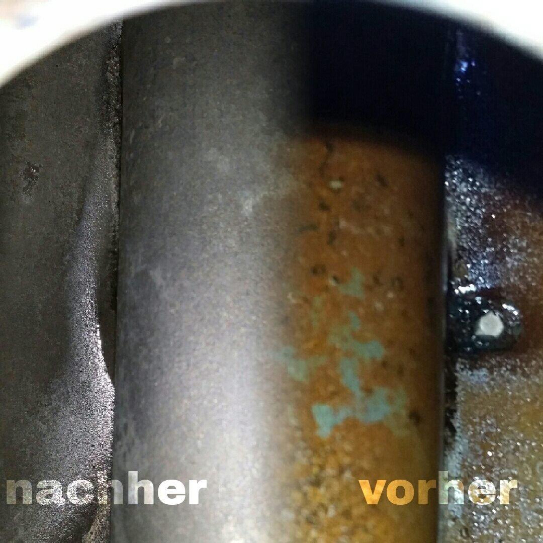 Rostio kit eliminador de óxido para depósitos: Botella de 1 litro de eliminador de óxido - Emulsión protectora y selladora de depósitos: Amazon.es: Coche y ...