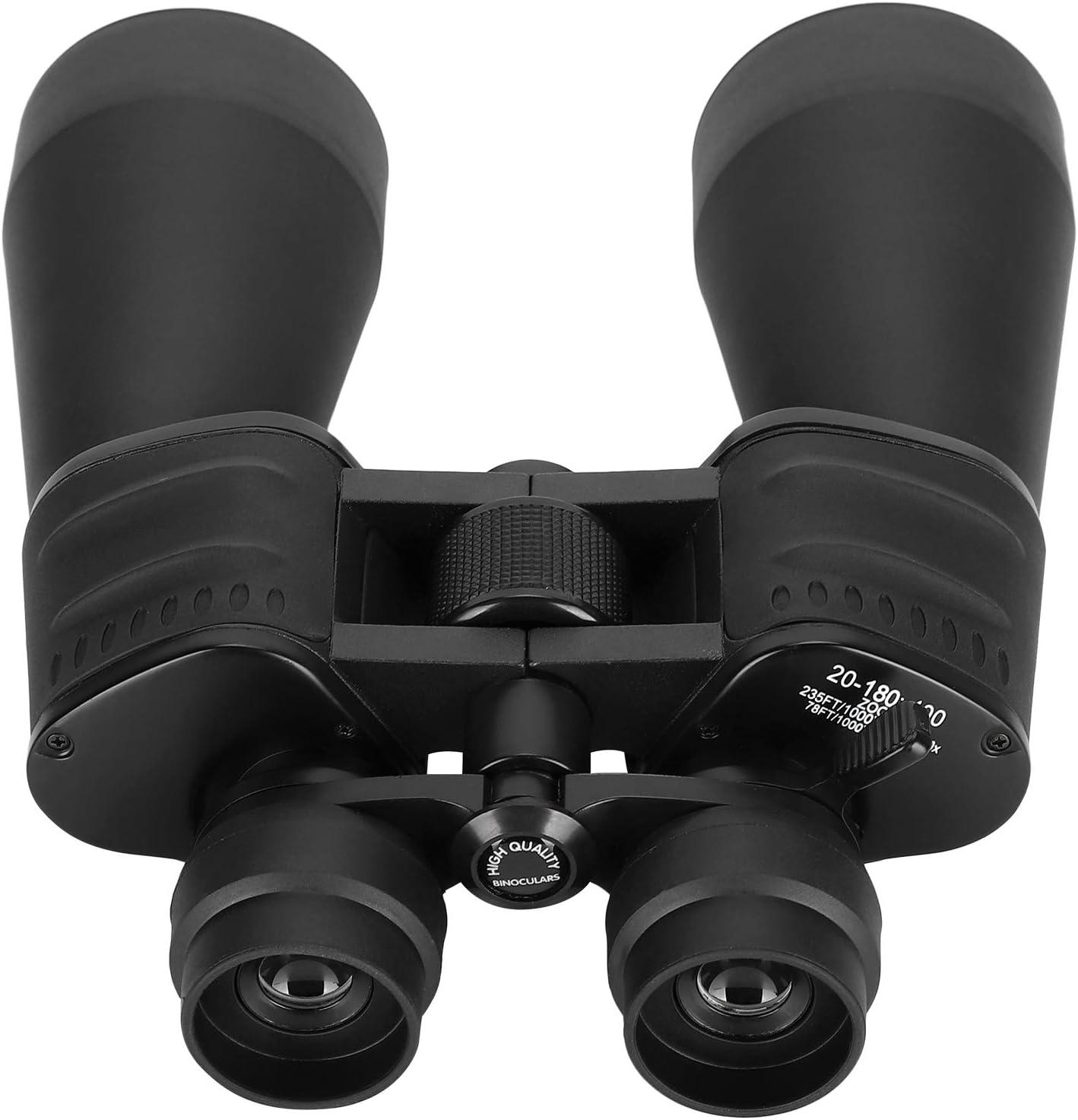 【𝐁𝐥𝐚𝐜𝐤 𝐅𝐫𝐢𝐝𝐚𝒚 𝐒𝐚𝐥𝐞】 Escalada 20‑180x100 telescopio Binocular para Exteriores para Adultos, para Viajes, observación de Aves, conciertos, Caza, Deportes al Aire Libre