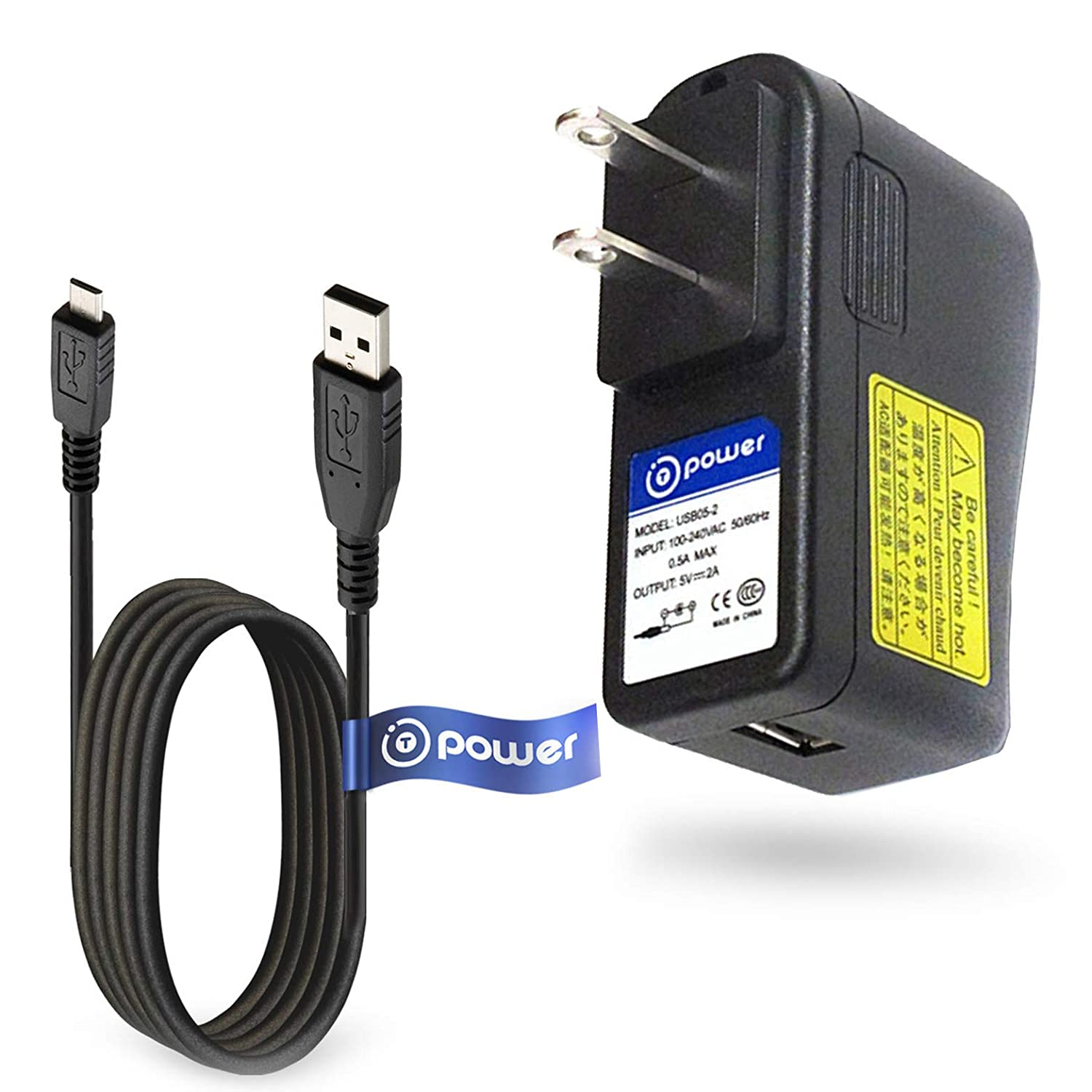 T POWER 5V Charger Dc Adapter Compatible with Voyor , Hoposo, Uniden Bearcat BC75XLT BC-75XLT , BC125AT, BCD325P2, BCD436HP, and HOME PATROL 2 RADIO SCANNERS Power Supply