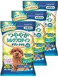 ハッピーペット ボディータオル 小型犬用 25枚入×3個(まとめ買い)