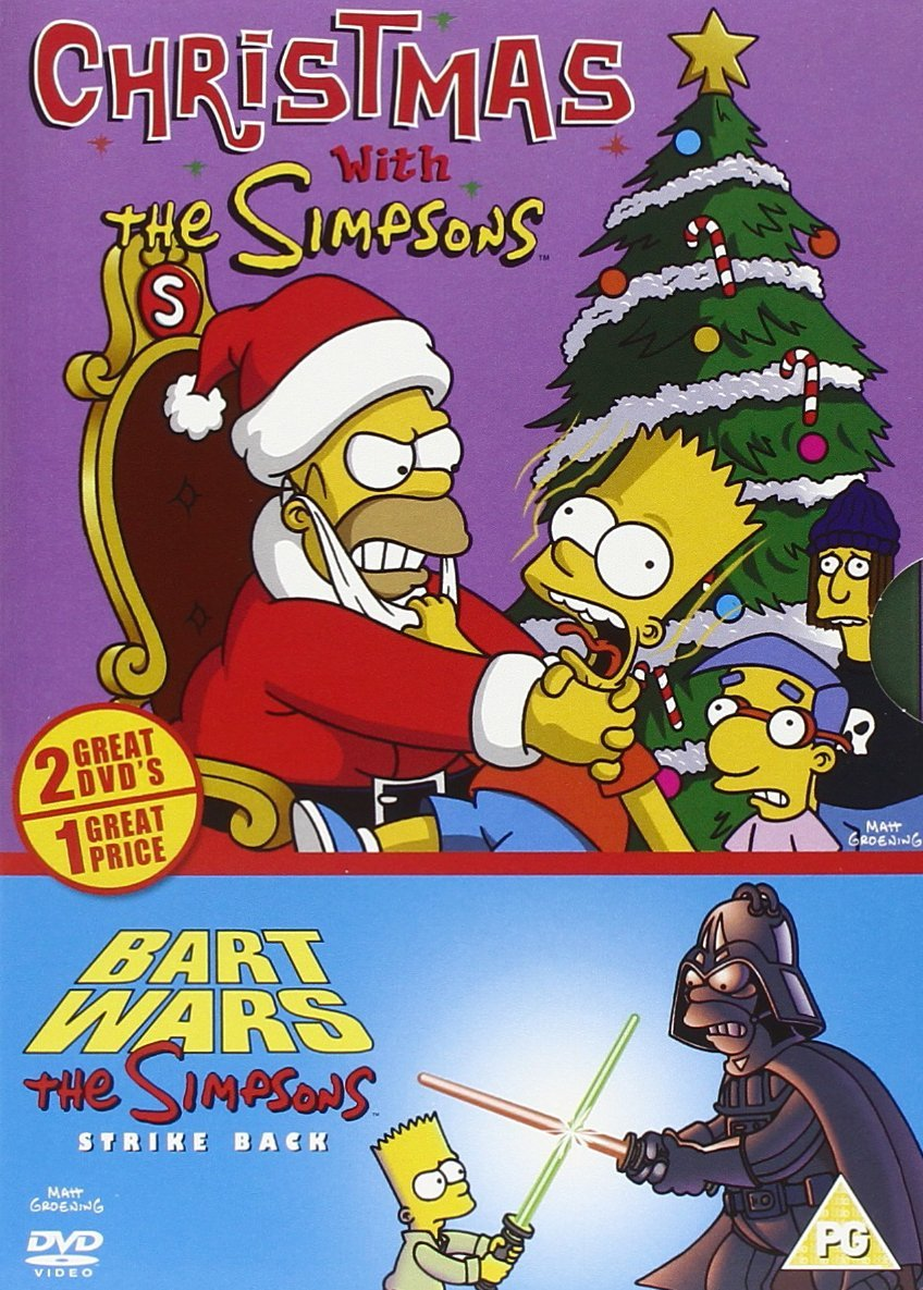 Simpsons Xmas With The Simpsons/bart Wars [UK Import]: Amazon.de ...