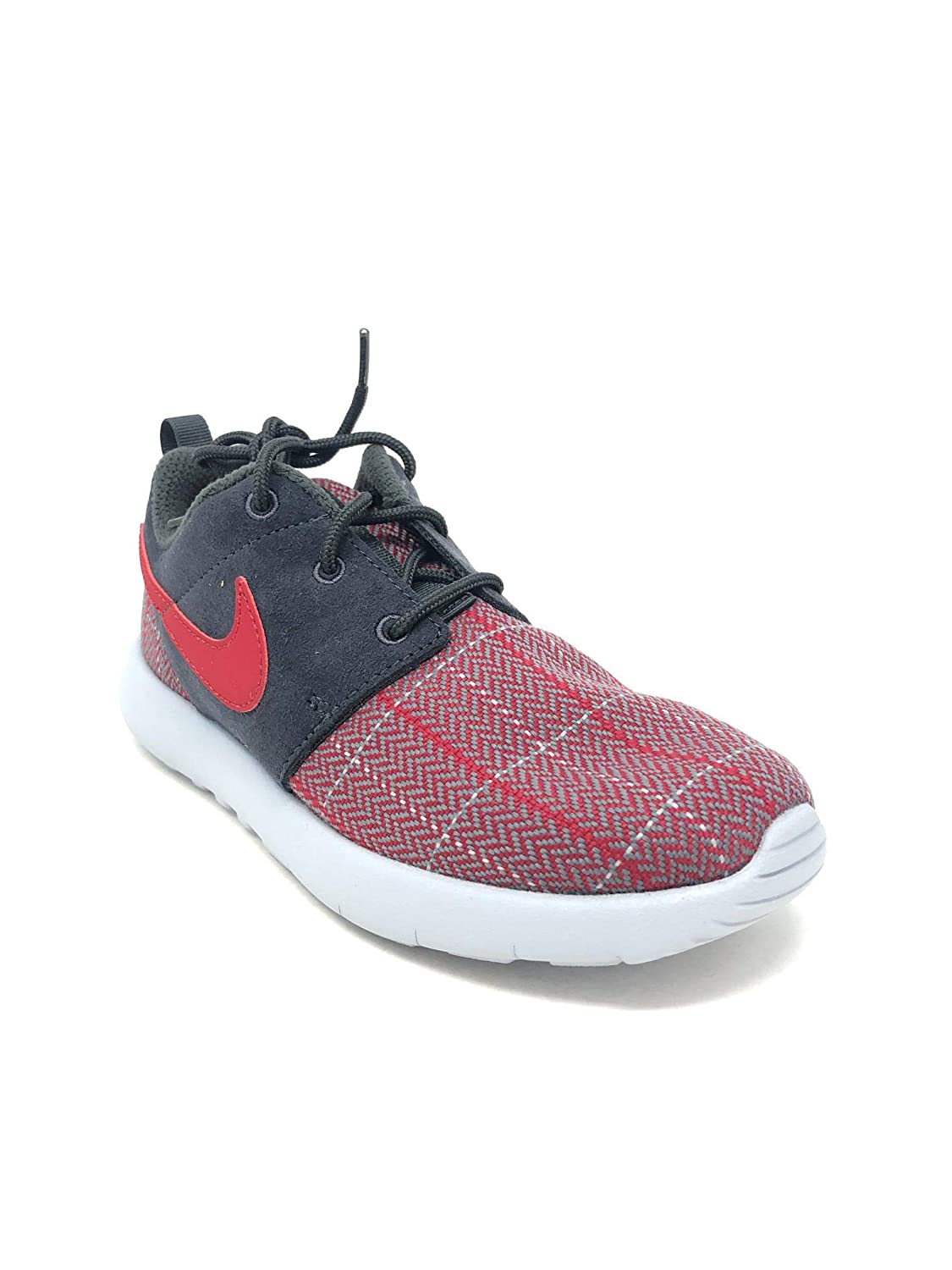 Size 3Y PS Anthracite//Gym-Gym Red-Wolf Grey Nike Roshe One SE