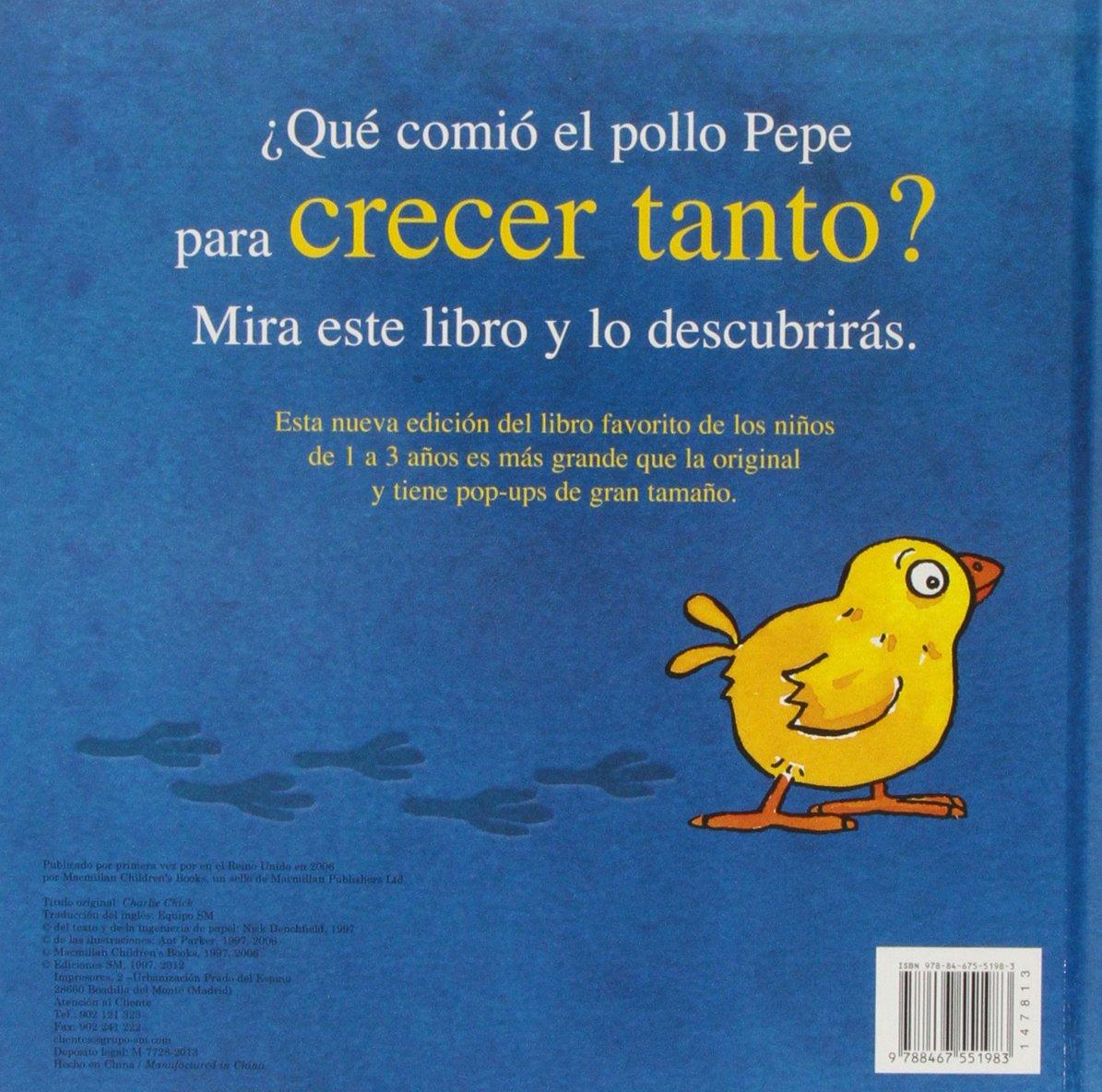 El gran libro del pollo Pepe El pollo Pepe y sus amigos: Amazon.es: Nick  Denchfield, Ant Parker: Libros