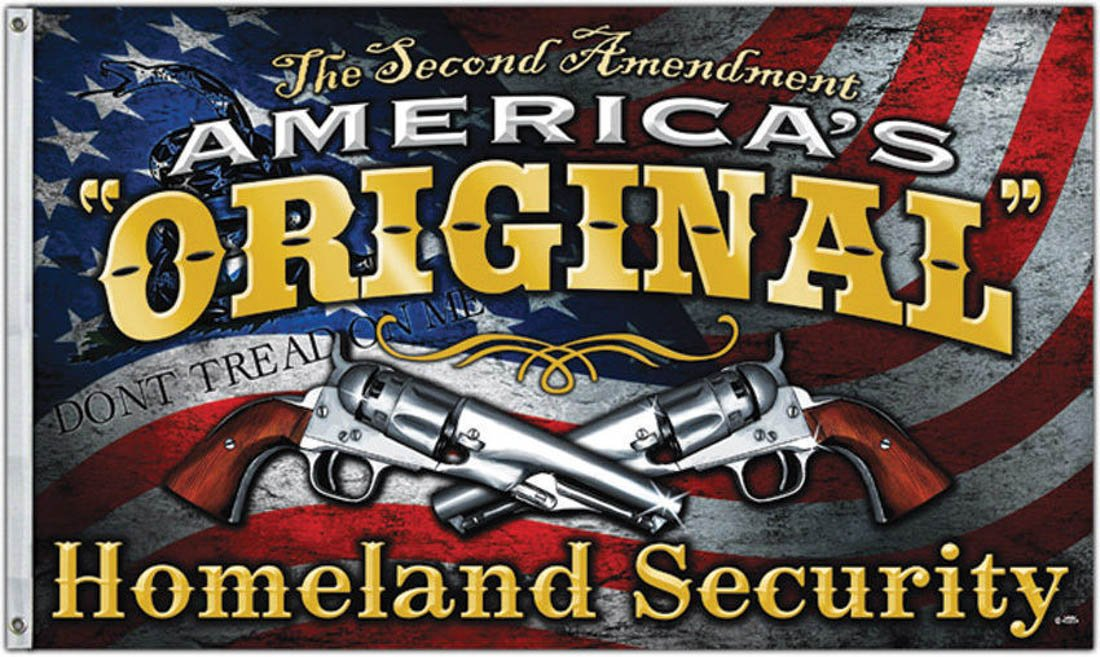 70%OFF New 3X5Ft America'S Original Homeland Security 2Nd Amendment Flag