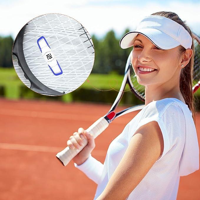2 Stück Tennis Dämpfer Lange Vibrationsdämpfer Tennisschläger Dämpfung