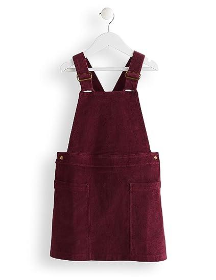 Marca Amazon Red Wagon Cord Pinafore Vestido Para Niñas